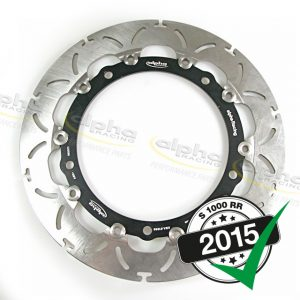 Alpha Racing Front brake disc – BMW OEM wheel