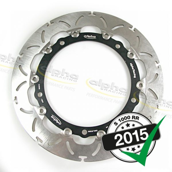 Alpha Racing Front brake disc – BMW OEM wheel
