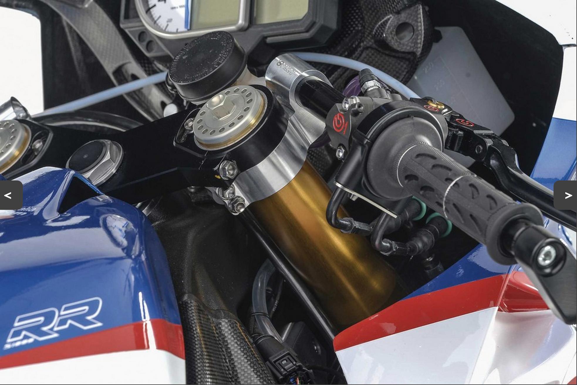 57mm Bonamici Ducati Panigale Clip-Ons