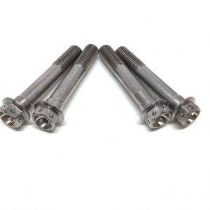 Titanium caliper bolts