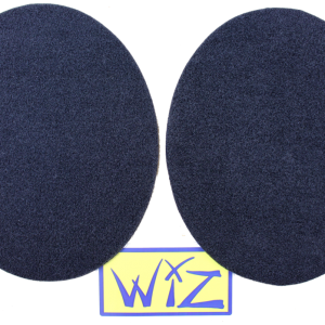 Double sided fluffy velcro patches