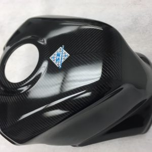 SBK Carbon Tank cover