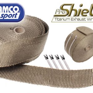 Samco Sport Titanium Exhaust Wrap (2.54cm7,6m) - (1 wide 25ft long)